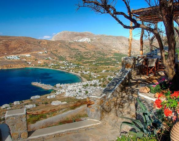 Amorgos is quieter and lesser known than other Cycladic islands