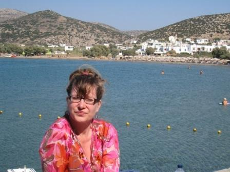 Katia in Galissas, Greece