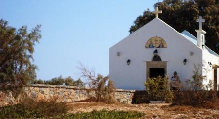 Church of Saint Agios Konstantinos (photo by Katie Belle)