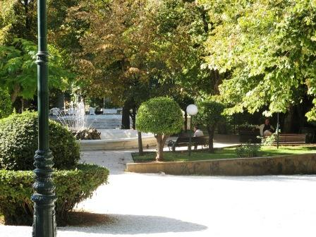 Kifissia park near the Metro