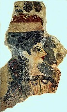 Minoan Lady Fresco