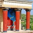 Knossos Palace near Heraklion, Crete