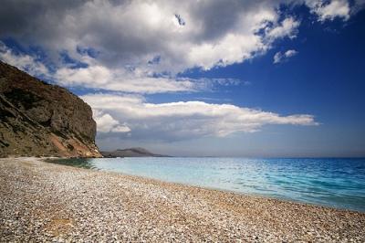 Crete to Kythera - Kombonada Beach (image by Pavlos Pavlidis)
