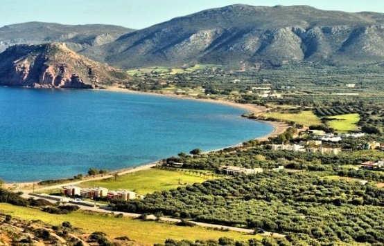 Kouremenos Beach in eastern Crete