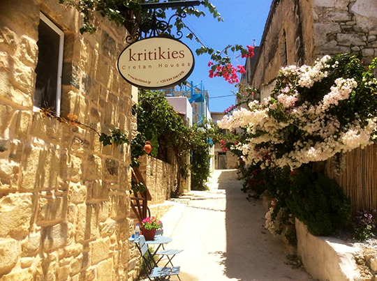 Accommodation Heraklion - Kritikes Elaia in the village of Pitsidia