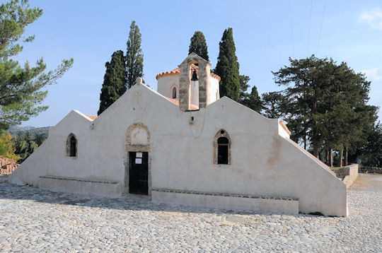 Panagia Kera church in Kritsa Village contains some of the finest preserved Byzantine frescoes in Crete.