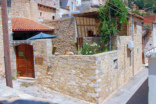 Kritsa Village, street (image by George M. Groutas)