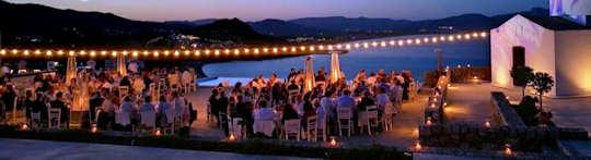 Ktima Restaurant on Vlicha Beach, just north of Lindos on Rhodes