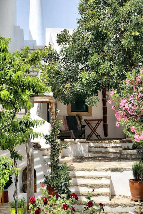 Village house in Kythera, Greece