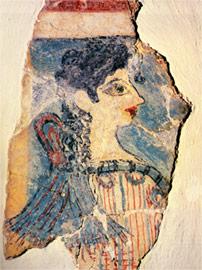 'La Parisienne' of Knossos Fresco