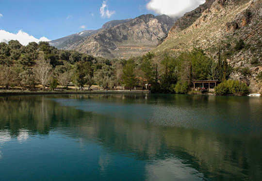 Lake Zaros and Rouvas Gorge