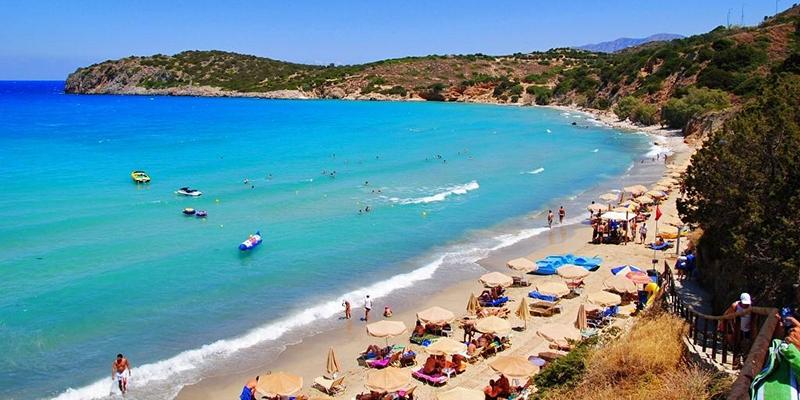 Istro Beach, Crete