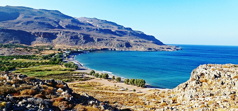Kato Zakros Beach in the remote east of Crete
