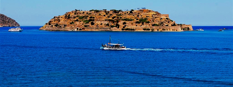 Spinalonga Island off Crete