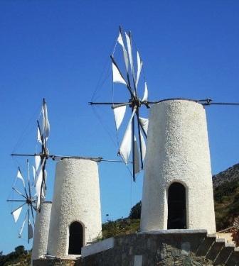 Lasithi Windmills (Image by Thomas Kohler)