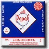 Lyra Di Creta strings