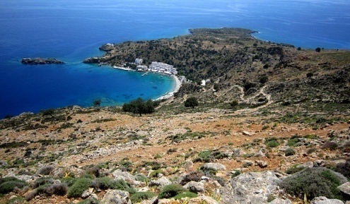 Village of Loutro (image by Karin Signe)