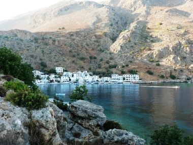 Loutro seaside village (image by Lostajy)
