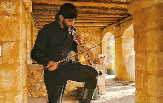 Cretan Lyra Player
