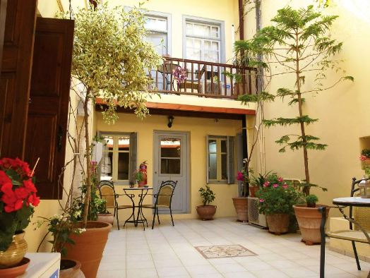 Madonna Studios in the old town - showing the delightful inner courtyard
