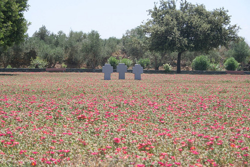 German War Cemetery at Maleme, Crete (image by Konstantinos Mavroudis)