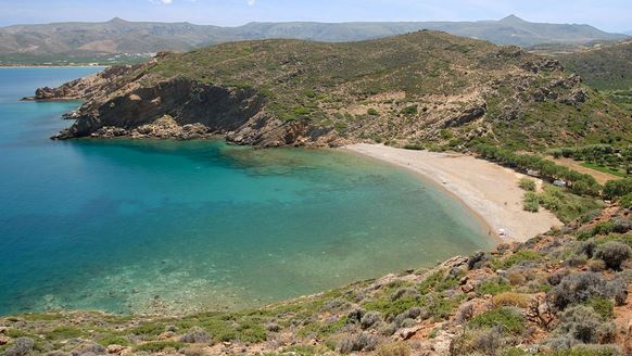Maridati Beach is 5 km from Palaikastro Village