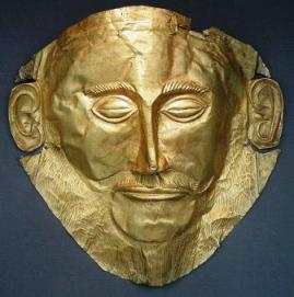 National Archaeological Museum - the golden Mask of Argamemnon