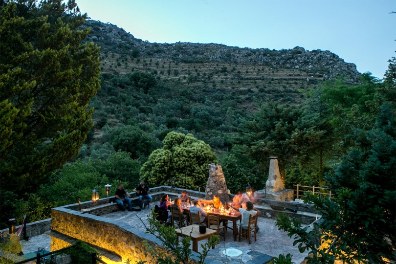 Deep in the mountains of Chania is an eco retreat with a unique history