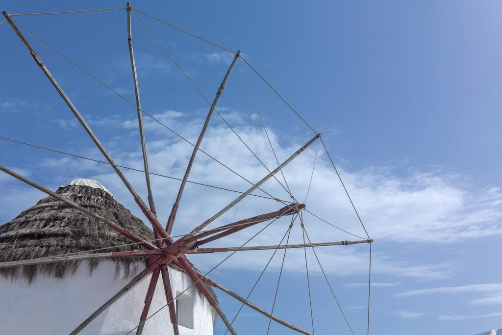 Stay inside one of the famous Mykonos windmills