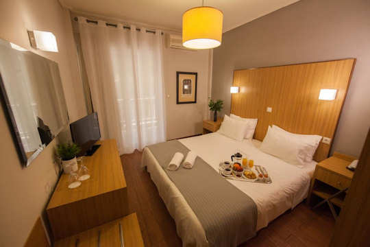 Myrto Hotel near Rafina Port - stylish interiors