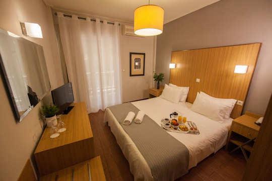 Myrto Hotel near Rafina Port - stylish interiors