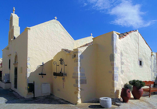 Odigitrias Monastery Crete (image by Rookuzz)