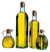 Beautiful green olive oil from Crete