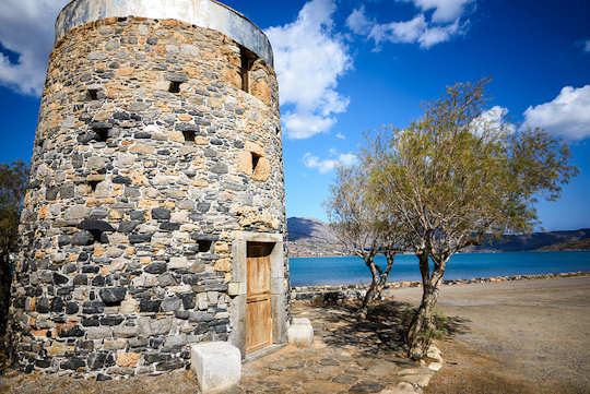 Ancient Olous is close to Elounda on the isthmus