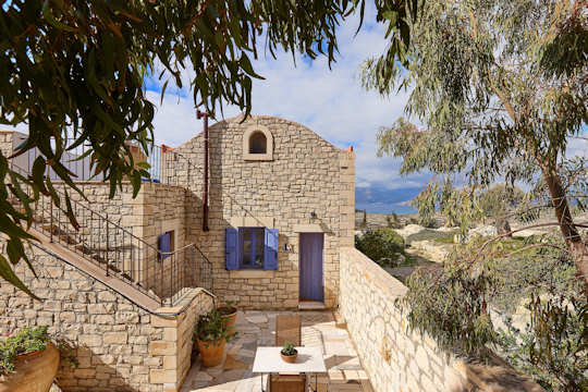Orelia Villas look out over the Mediterranean in southern Crete