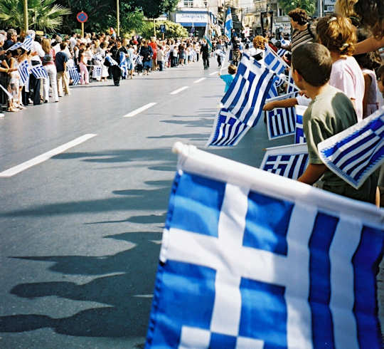 Oxi Day Parade in Heraklion