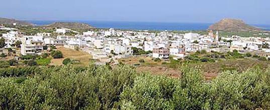 Palekastro Village, Crete (image by M Hopfner)