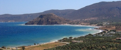 Kouremenos Beach is just down the road