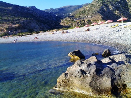 Beach in Paleochora (image by RGFotos)