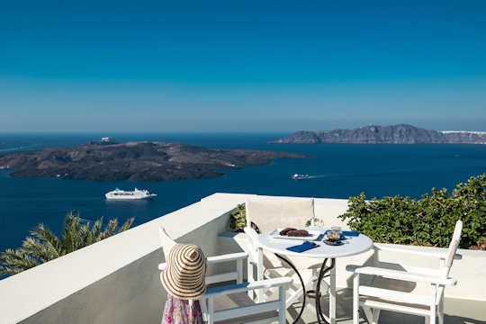 Pantelia Suites Santorini - did we mention the view?