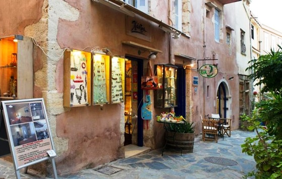 This is Pension Eva in the old town of Chania