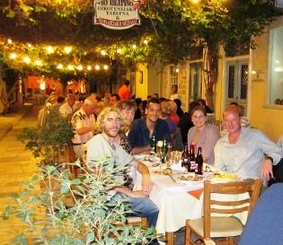 Outdoor taverna
