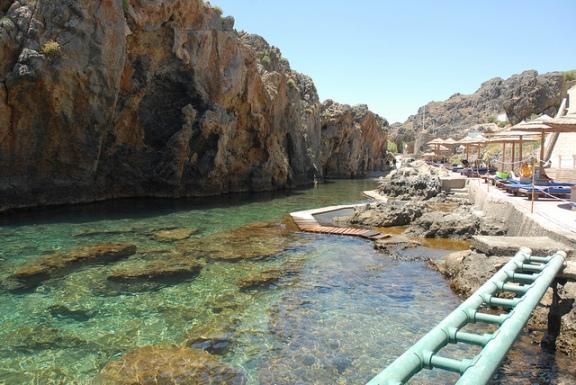 Pirate Fjord Beach in Crete