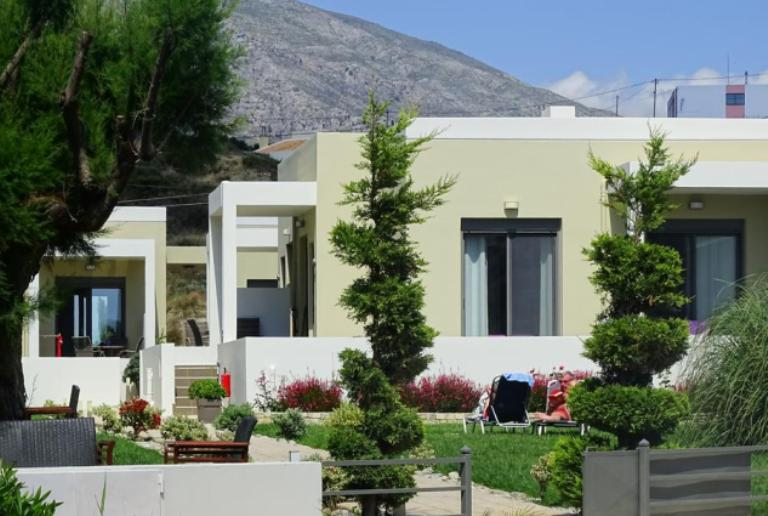 Plakias Suites are across a small road from the beach