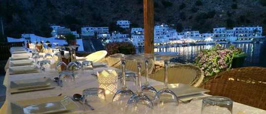 Loutro Crete - an isolated seaside village which is perfect for a romantic holiday