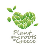 Plant Your Roots in Greece Logo