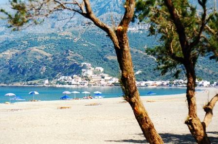 Plakias Bay in summer