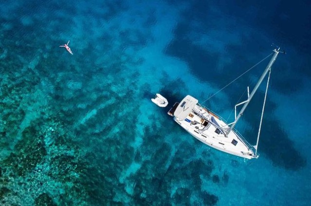 Sailing in Chania, Crete