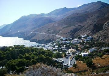 Chora Sfakion on the south coast