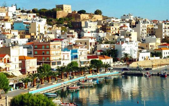 Sitia is located in the Lasithi region of eastern Crete